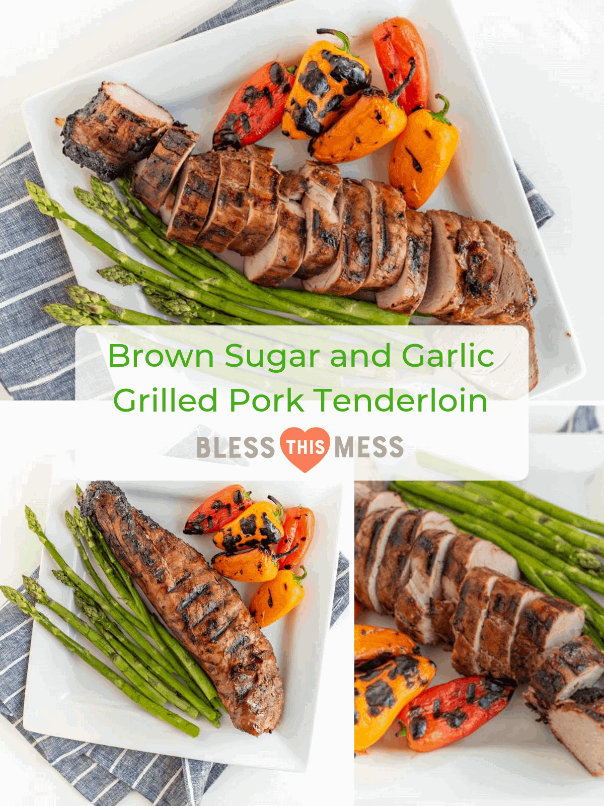 Brown Sugar and Garlic Grilled Pork Tenderloin is robust and smoky with a nice sweet-to-savory ratio. Fire up the grill because this is your new go-to summertime barbecue meat. #grilling #porktenderloin #porkrecipes