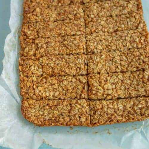 Crunchy Oat and Honey Granola Bars
