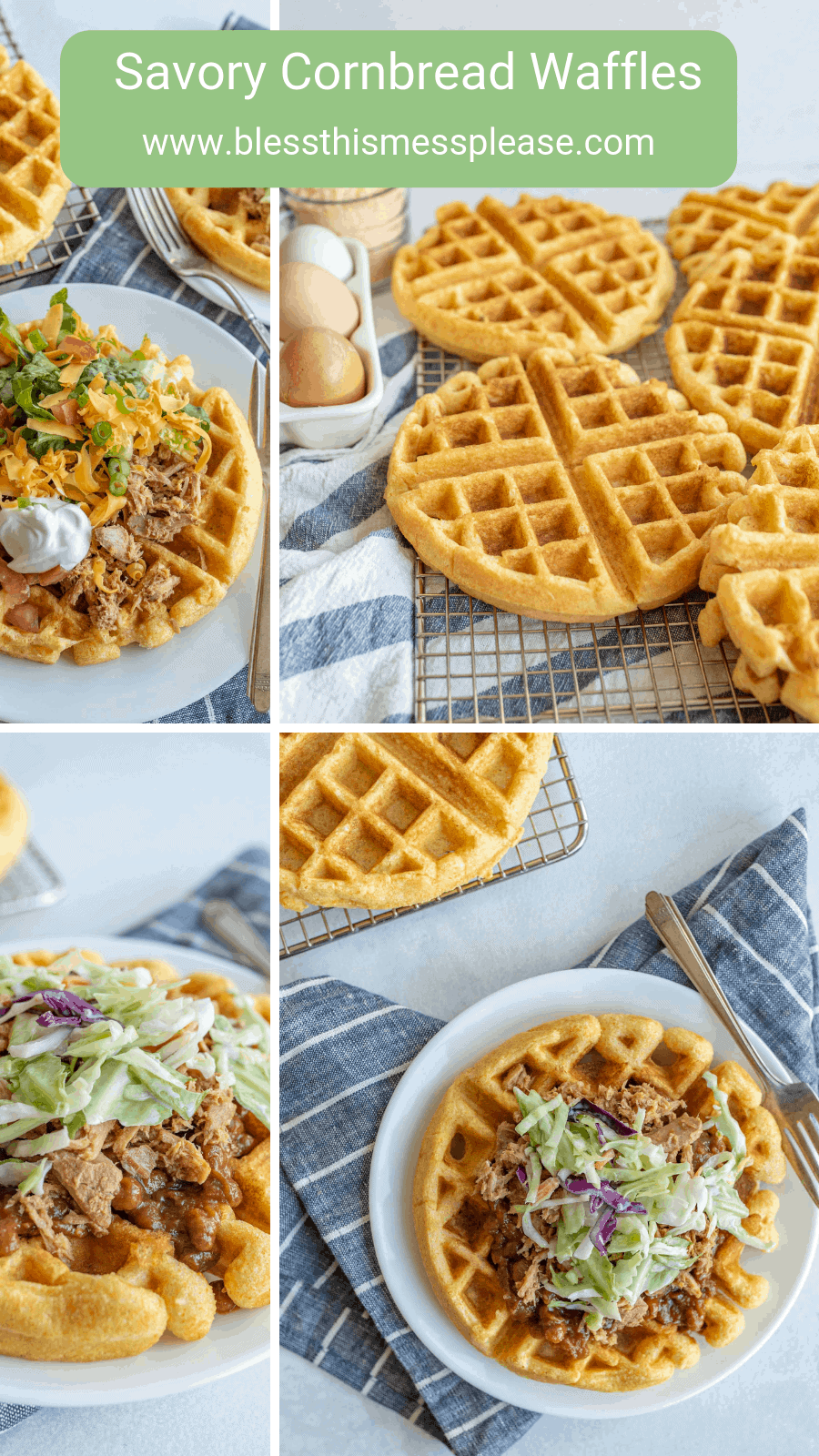 Best Easy Cornbread Waffles Recipe