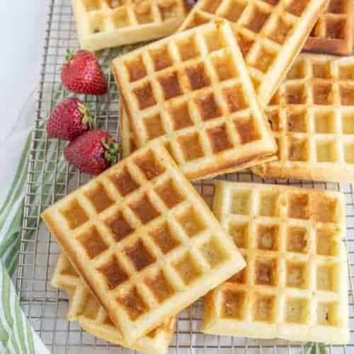Classic Fluffy Buttermilk Waffle Recipe