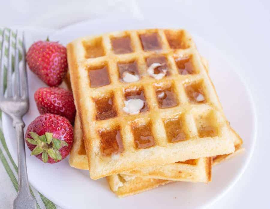 Easy Classic Buttermilk Waffle Recipe
