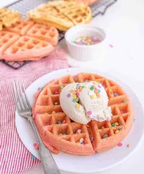 Cake Mix Waffle Recipe