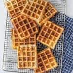 Homemade Savory Waffles Recipe