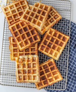 Homemade Savory Waffles Recipe