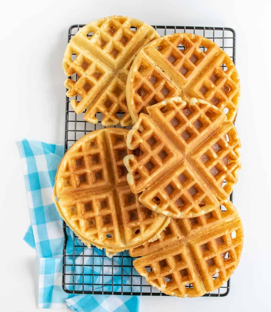 How To Make Fluffy Waffles