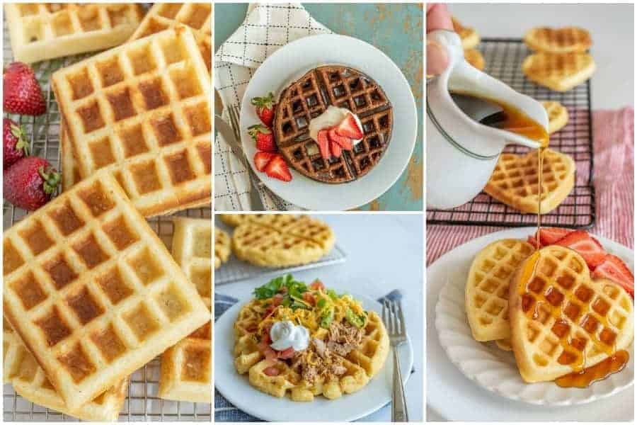 15+ Easy and Delicious Homemade Waffle Recipes