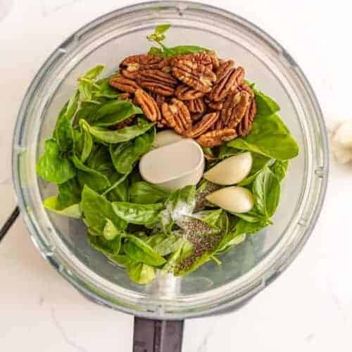How to Make Homemade Pesto (without pine nuts)