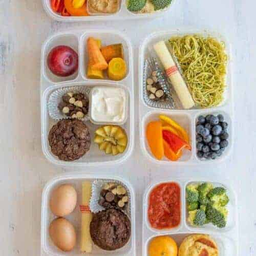 Make Ahead Lunch Box Ideas: Pack on Sunday, No morning prep!