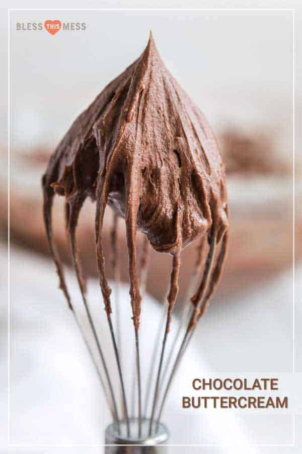 Homemade Chocolate Buttercream Frosting