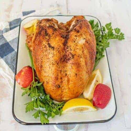 Simple and Juicy Oven Roasted Turkey Breast