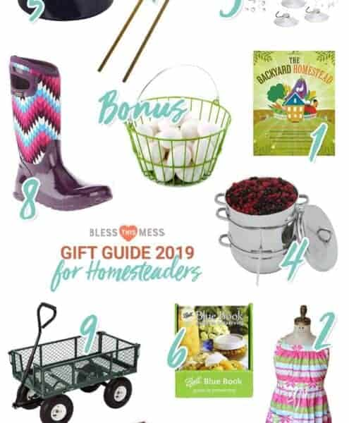 Gift Ideas for Gardeners and Homesteaders