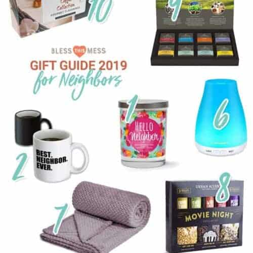Simple Holiday Gift Ideas For Your Neighbors