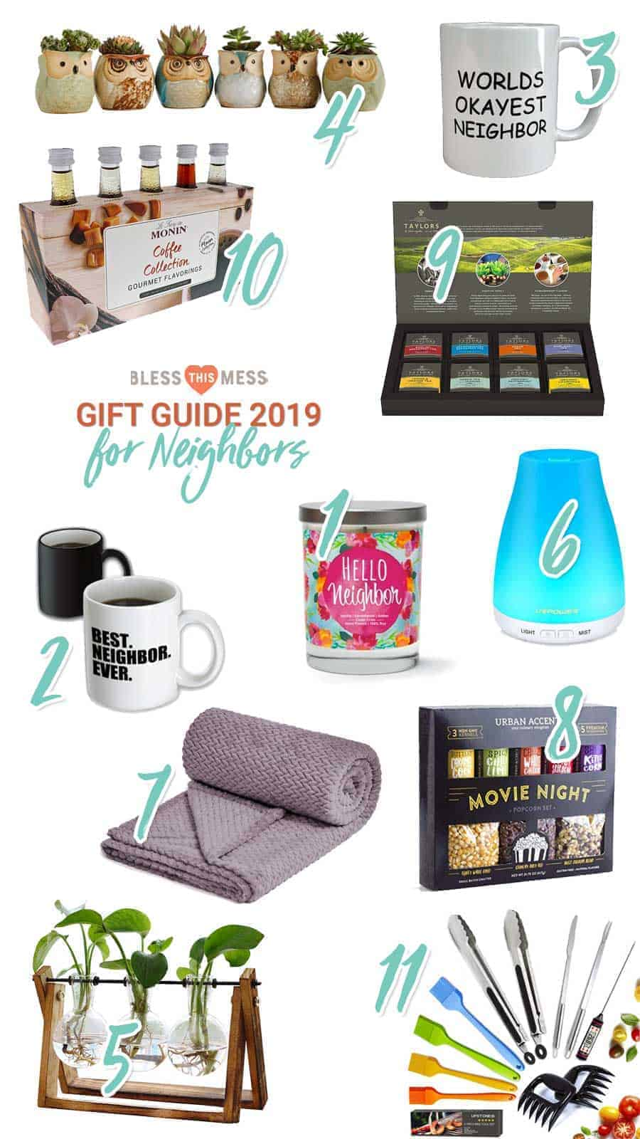 Holiday Gift Ideas For Your Neighbor | Bless This Mess