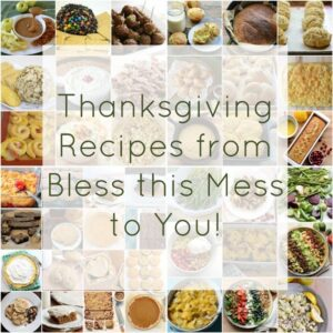 Thanksgiving Recipes from Bless this Mess