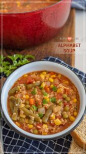 Healthy Alphabet Soup
