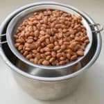 pinto beans in stock pot