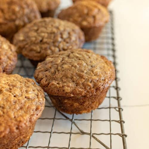Brown Sugar Oatmeal Muffins