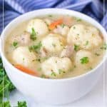 Old Fashioned Chicken and Dumplings Soup