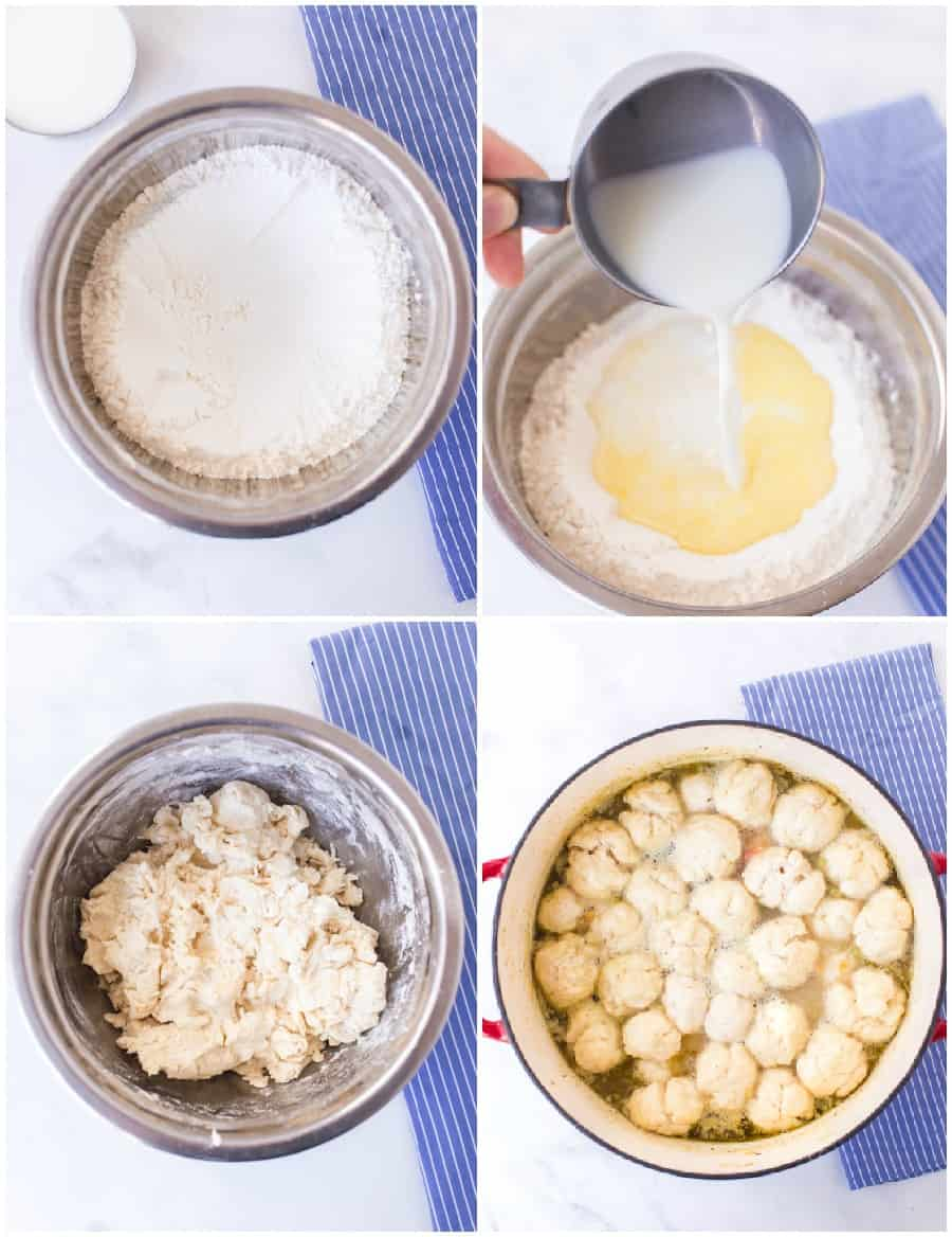 dumplings how to collage image
