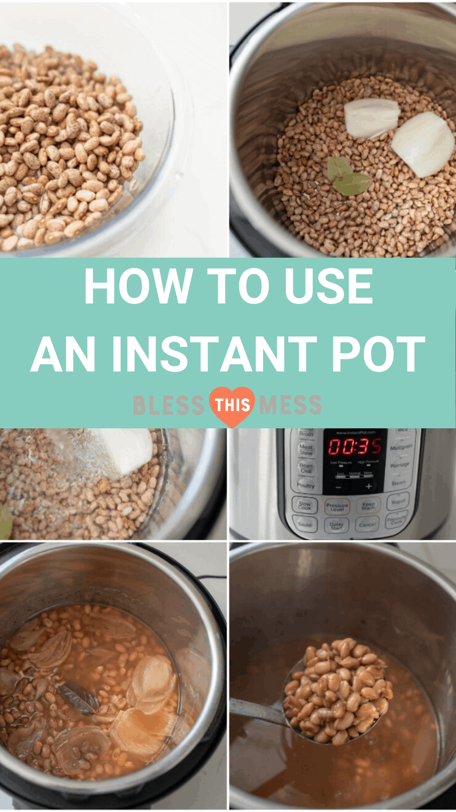 How to Cook With An Instant Pot Collage Pin