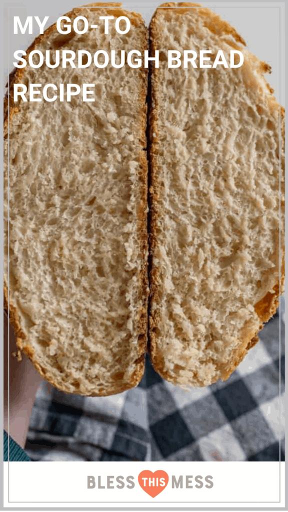 how to make sourdough bread recipe