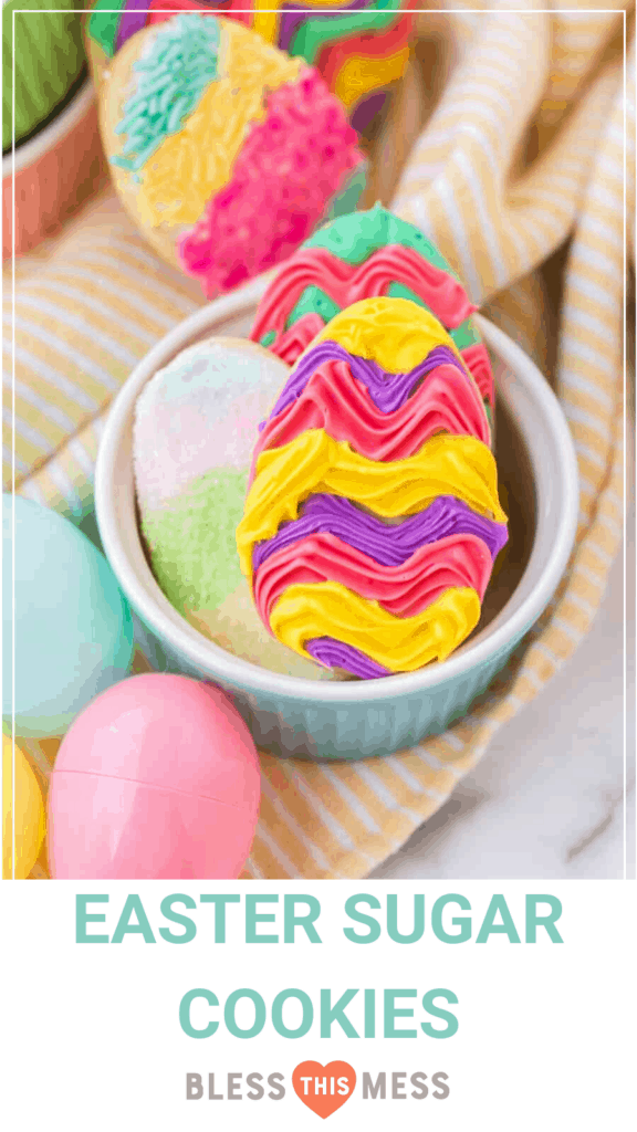 easter sugar cookie pin image