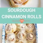 Same Day Sourdough Cinnamon Rolls