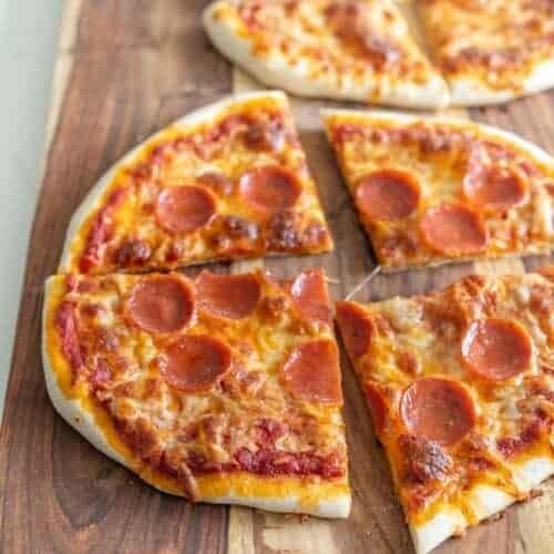 Same Day Sourdough Pizza Crust