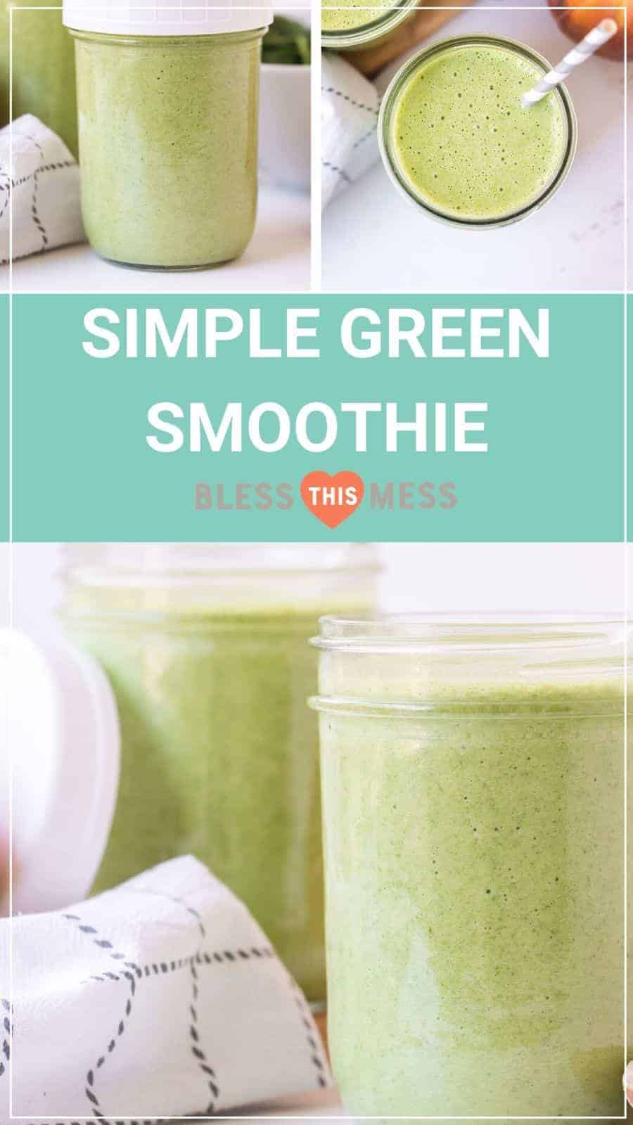 simple green smoothie pin