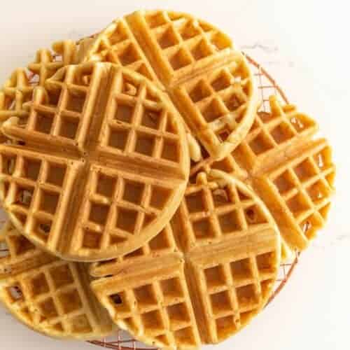Easy Sourdough Waffle Recipe