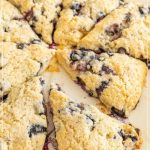 beth's blueberry cream scones pin