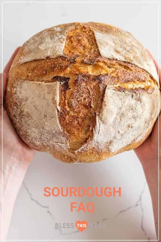 sourdough bread loaf troublshooting pin
