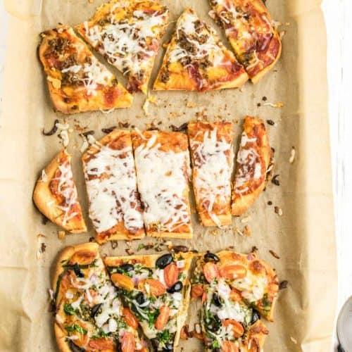 Quick and Easy Flatbread Pizza Recipe