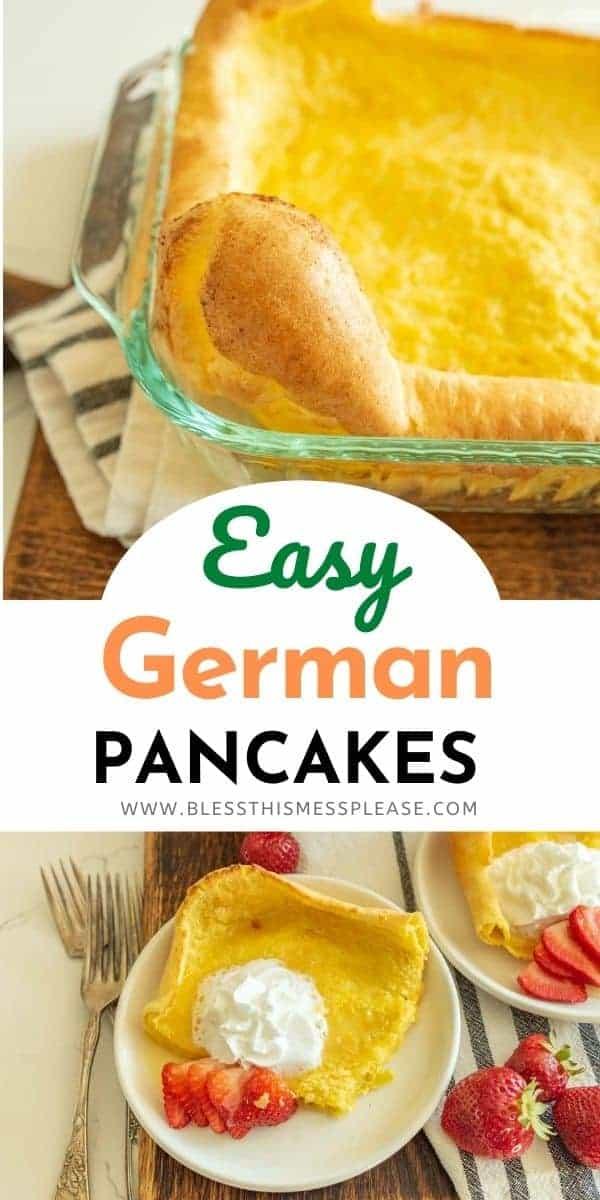 german pancake pin with text
