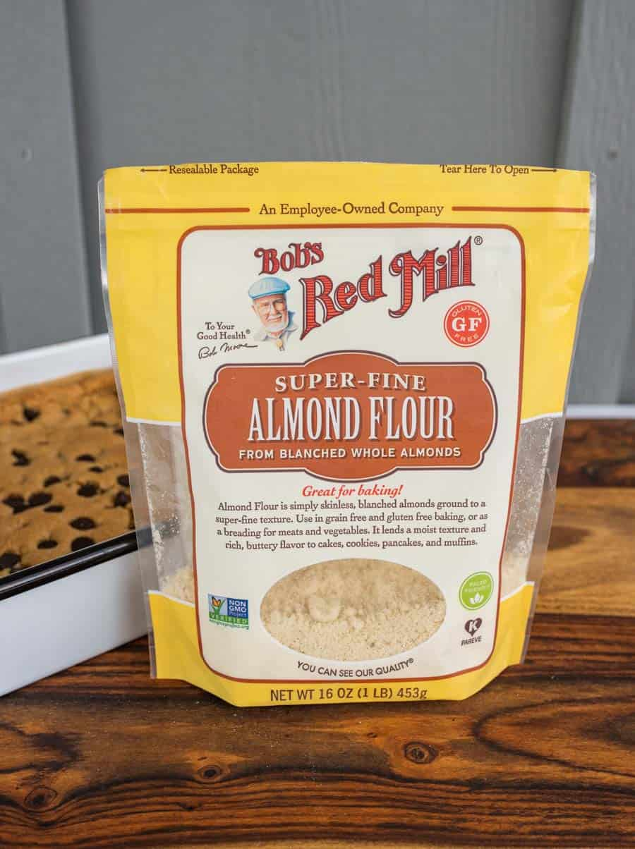 package of Bob's Red Mill almond flour