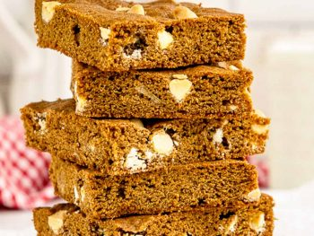stack of blondies