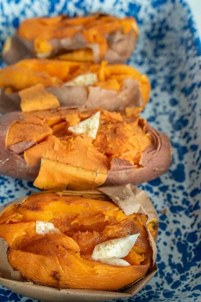 Oven Baked Sweet Potato How To Bake A Sweet Potato