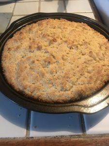 pan with baked good