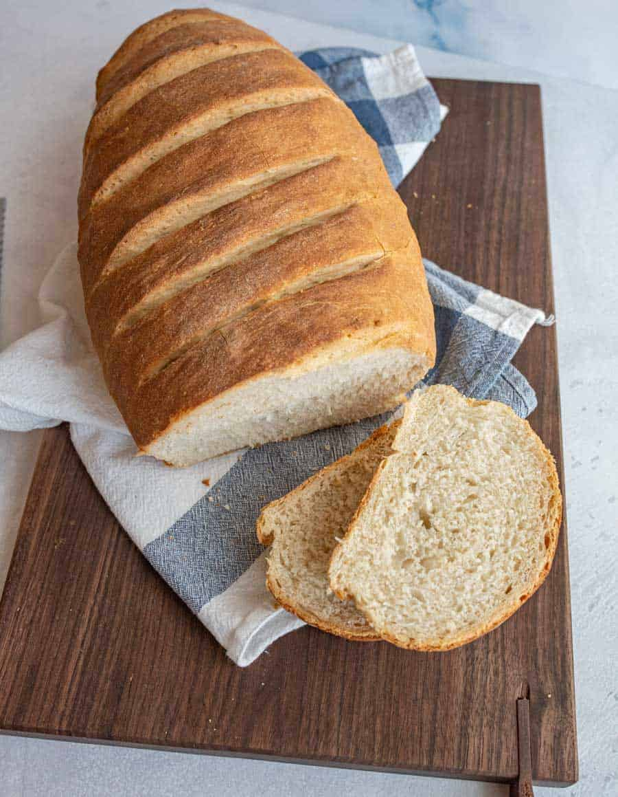 Homemade Italian Bread An Easy Italian Bread Recipe
