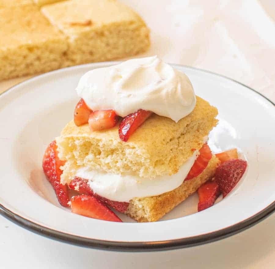 The Best Strawberry Shortcake
